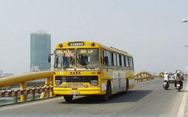 Xe buýt từ Đà Nẵng đi Hội An