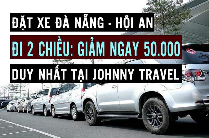 Giảm giá 2 chiều xe Hội An Đà Nẵng
